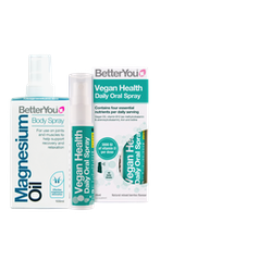 Magnesium and Vegan sprays by the brand BetterYou